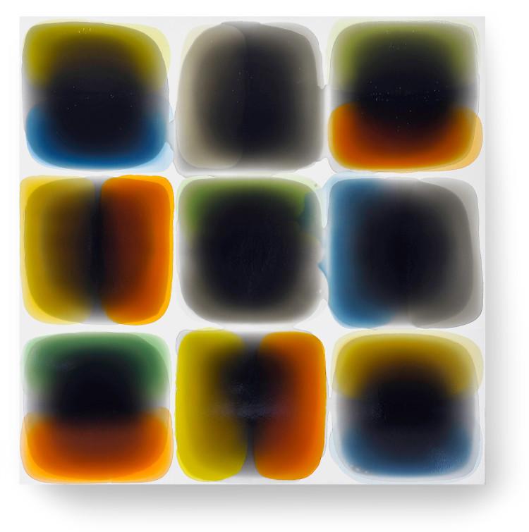 Bez-n†zvu,-2011,-lak,-barviva,-pigmenty-na-pl†tnÿ,-140x140-cm