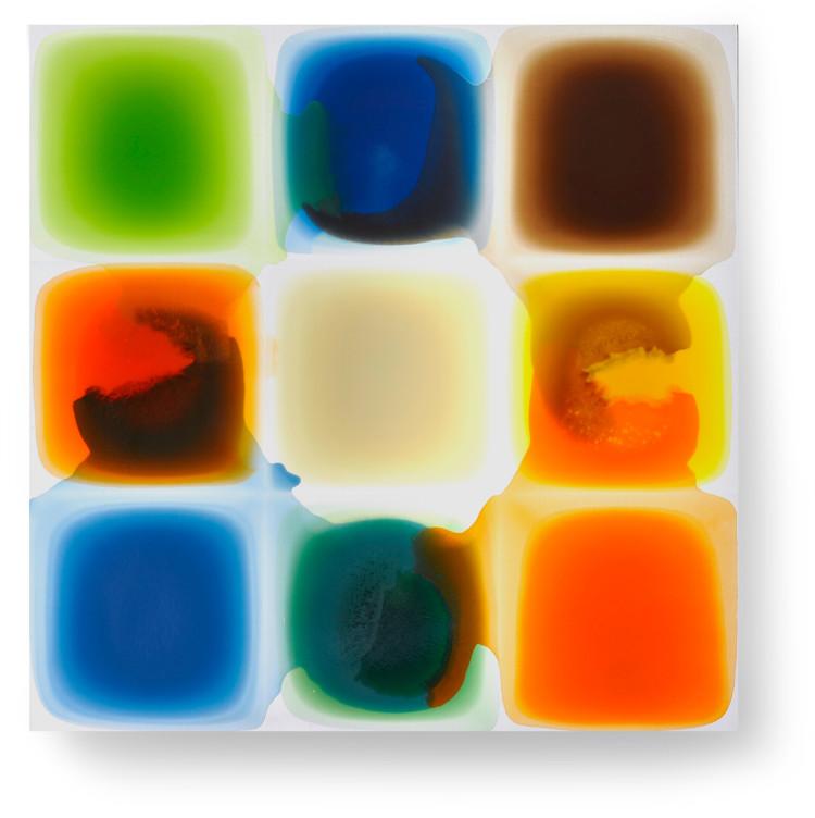 Bez-n†zvu,-2011,-lak,-barviva,-pigmenty-na-pl†tnÿ,-160x160-cm