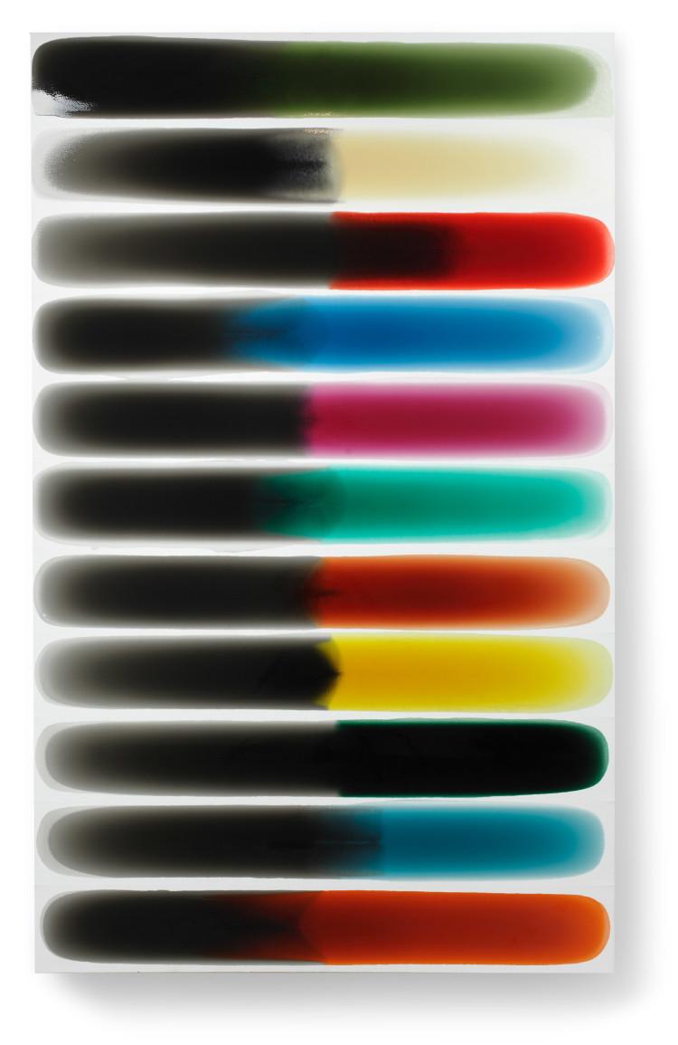 Bez-n†zvu,-2011,-lak,-barviva,-pigmenty-na-pl†tnÿ,-220x138cm