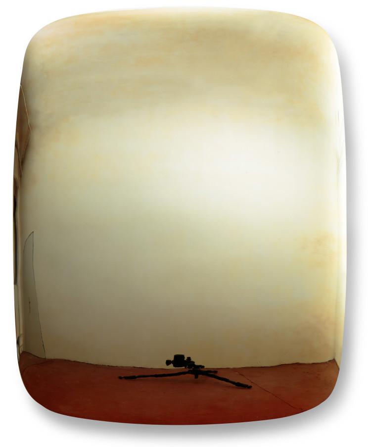 St˝echa,-2013,-plech,-akryl†tov†-barva,-t¢novanÏ-akryl†tovÏ-leÁtÿnÏ-lak,-157-x-123-cm