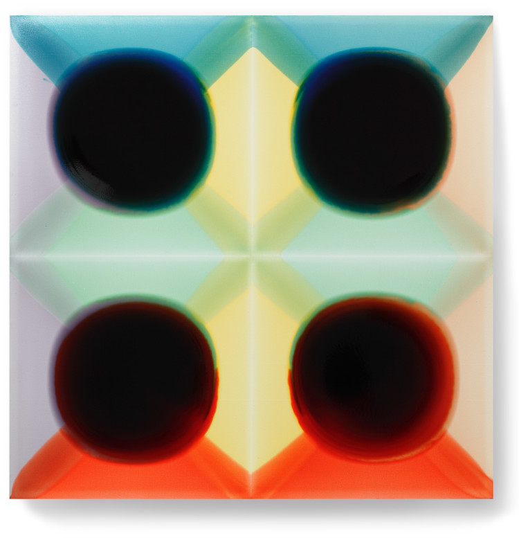 Bez-n†zvu,-2012,-lak,-barviva,-pigmenty-na-pl†tnÿ,-130x130-cm