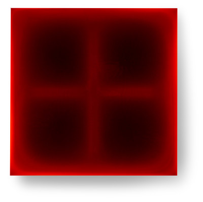 Bez-n†zvu,-2013,-lak,-barviva,-pigmenty-na-pl†tnÿ,-100x100cm